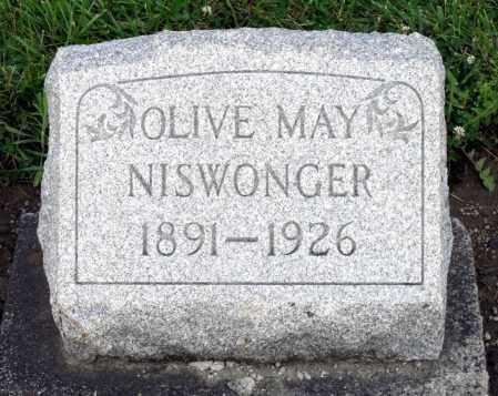 NISWONGER, OLIVE MAY - Montgomery County, Ohio   OLIVE MAY NISWONGER - Ohio Gravestone Photos
