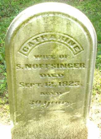 NOFFSINGER, CATHARINE - Montgomery County, Ohio   CATHARINE NOFFSINGER - Ohio Gravestone Photos