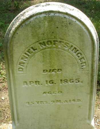 NOFFSINGER, DANIEL - Montgomery County, Ohio | DANIEL NOFFSINGER - Ohio Gravestone Photos