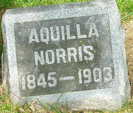 NORRIS, AQUILLA - Montgomery County, Ohio   AQUILLA NORRIS - Ohio Gravestone Photos