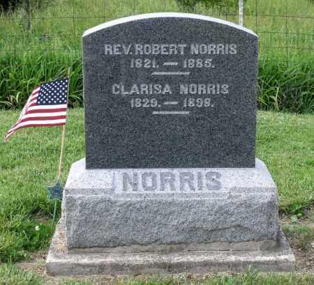 NORRIS, CLARISA - Montgomery County, Ohio   CLARISA NORRIS - Ohio Gravestone Photos