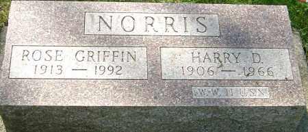 NORRIS, HARRY D - Montgomery County, Ohio | HARRY D NORRIS - Ohio Gravestone Photos