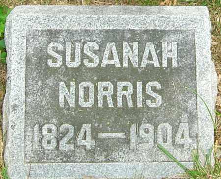 NORRIS, SUSANAH - Montgomery County, Ohio | SUSANAH NORRIS - Ohio Gravestone Photos