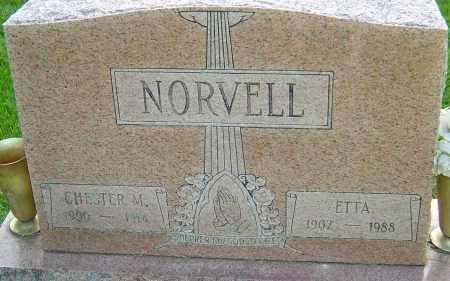 NORVELL, CHESTER M - Montgomery County, Ohio | CHESTER M NORVELL - Ohio Gravestone Photos