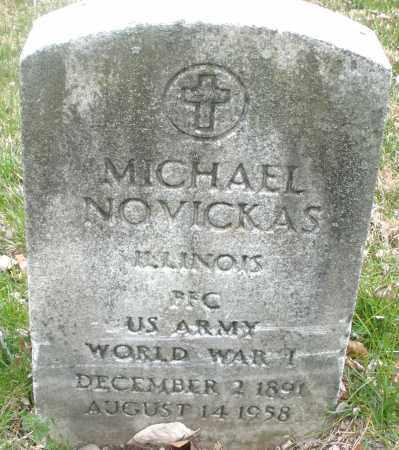 NOVICKAS, MICHAEL - Montgomery County, Ohio | MICHAEL NOVICKAS - Ohio Gravestone Photos