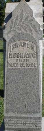 NUSHAWG, ISRAEL B. - Montgomery County, Ohio   ISRAEL B. NUSHAWG - Ohio Gravestone Photos