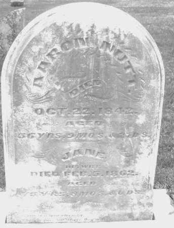 NUTT, JANE - Montgomery County, Ohio | JANE NUTT - Ohio Gravestone Photos