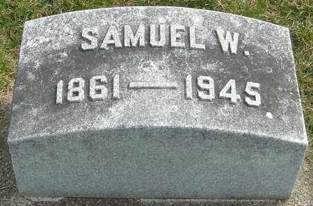 NUTT, SAMUEL W - Montgomery County, Ohio | SAMUEL W NUTT - Ohio Gravestone Photos