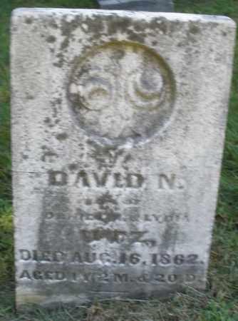 NUTZ, DAVID N. - Montgomery County, Ohio | DAVID N. NUTZ - Ohio Gravestone Photos