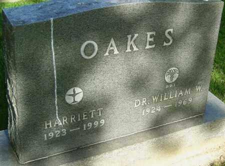 OAKES, HARRIETT - Montgomery County, Ohio   HARRIETT OAKES - Ohio Gravestone Photos