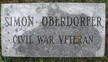 OBERDORFER, SIMON - Montgomery County, Ohio   SIMON OBERDORFER - Ohio Gravestone Photos