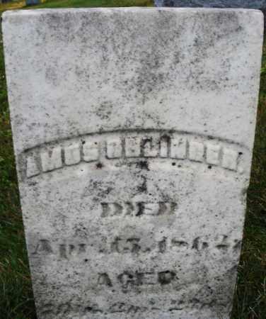 OBLINGER, AMOS - Montgomery County, Ohio | AMOS OBLINGER - Ohio Gravestone Photos