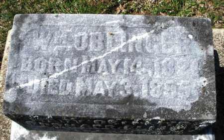 OBLINGER, WILLIAM - Montgomery County, Ohio | WILLIAM OBLINGER - Ohio Gravestone Photos