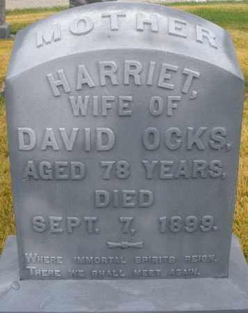 OCKS, HARRIET - Montgomery County, Ohio | HARRIET OCKS - Ohio Gravestone Photos