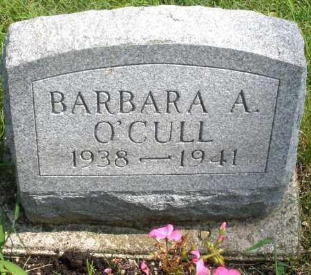 O'CULL, BARBARA ANN - Montgomery County, Ohio | BARBARA ANN O'CULL - Ohio Gravestone Photos