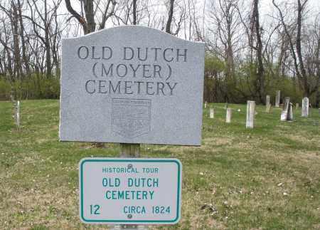 OLD DUTCH, CEMETERY - Montgomery County, Ohio | CEMETERY OLD DUTCH - Ohio Gravestone Photos