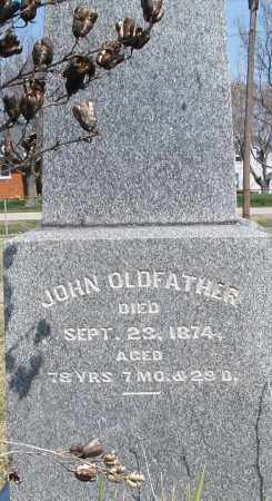 OLDFATHER, JOHN - Montgomery County, Ohio | JOHN OLDFATHER - Ohio Gravestone Photos