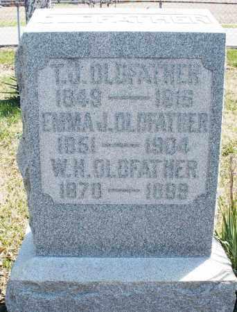 OLDFATHER, W.H. - Montgomery County, Ohio | W.H. OLDFATHER - Ohio Gravestone Photos