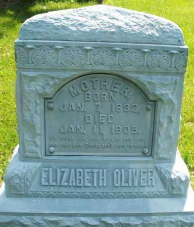 OLIVER, ELIZABETH - Montgomery County, Ohio | ELIZABETH OLIVER - Ohio Gravestone Photos