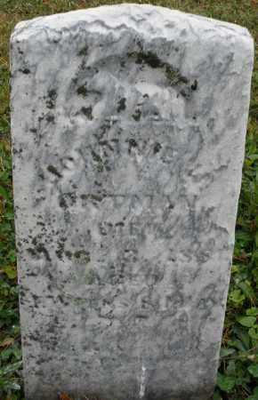 ORTMAN, JOHNNIE - Montgomery County, Ohio   JOHNNIE ORTMAN - Ohio Gravestone Photos