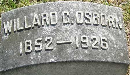 OSBORN, WILLARD G - Montgomery County, Ohio | WILLARD G OSBORN - Ohio Gravestone Photos