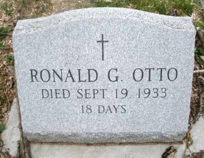 OTTO, RONALD G. - Montgomery County, Ohio   RONALD G. OTTO - Ohio Gravestone Photos