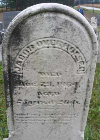 OVERHOUSER, JACOB - Montgomery County, Ohio | JACOB OVERHOUSER - Ohio Gravestone Photos