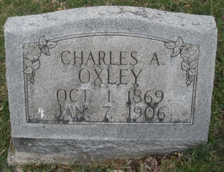 OXLEY, CHARLES A. - Montgomery County, Ohio | CHARLES A. OXLEY - Ohio Gravestone Photos