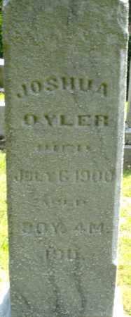 OYLER, JOSHUA - Montgomery County, Ohio   JOSHUA OYLER - Ohio Gravestone Photos