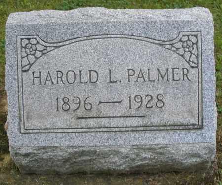 PALMER, HAROLD L. - Montgomery County, Ohio | HAROLD L. PALMER - Ohio Gravestone Photos