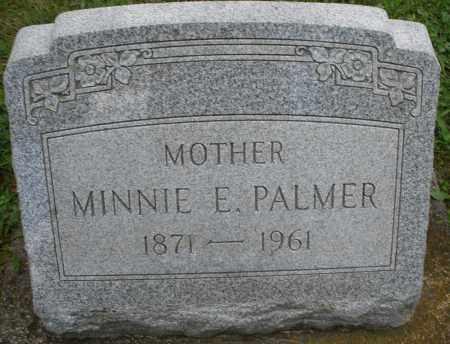 PALMER, MINNIE E. - Montgomery County, Ohio   MINNIE E. PALMER - Ohio Gravestone Photos