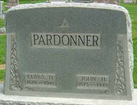 LOUTY PARDONNER, CLARA DELLA - Montgomery County, Ohio | CLARA DELLA LOUTY PARDONNER - Ohio Gravestone Photos