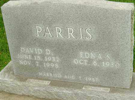 PARRIS, DAVID D - Montgomery County, Ohio | DAVID D PARRIS - Ohio Gravestone Photos