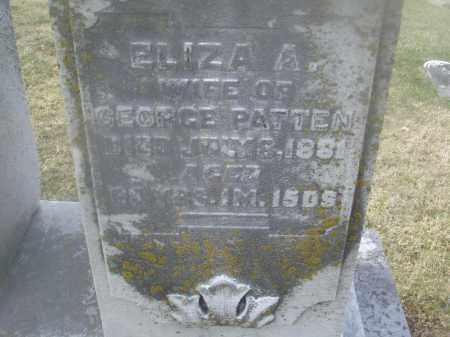 GETTER PATTEN, ELIZABETH A. - Montgomery County, Ohio | ELIZABETH A. GETTER PATTEN - Ohio Gravestone Photos