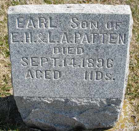PATTEN, EARL - Montgomery County, Ohio   EARL PATTEN - Ohio Gravestone Photos