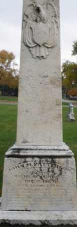 PATTERSON, JOHN M. - Montgomery County, Ohio   JOHN M. PATTERSON - Ohio Gravestone Photos