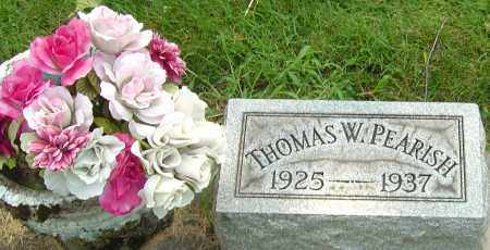 PEARISH, THOMAS W - Montgomery County, Ohio | THOMAS W PEARISH - Ohio Gravestone Photos