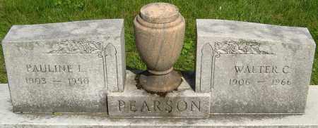 PEARSON, WALTER C - Montgomery County, Ohio | WALTER C PEARSON - Ohio Gravestone Photos
