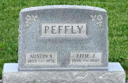 PEFFLY, AUSTIN K. - Montgomery County, Ohio | AUSTIN K. PEFFLY - Ohio Gravestone Photos