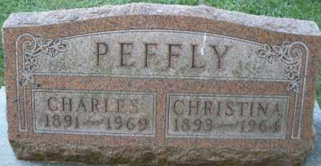 PEFFLY, CHRISTINA - Montgomery County, Ohio | CHRISTINA PEFFLY - Ohio Gravestone Photos