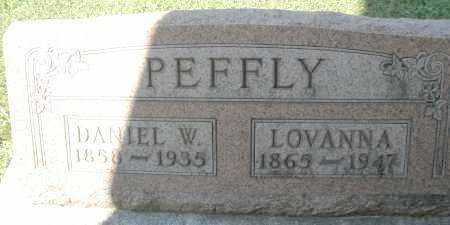 PEFFLY, LOVANNA - Montgomery County, Ohio | LOVANNA PEFFLY - Ohio Gravestone Photos