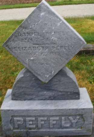 PEFFLY, ELIZABETH - Montgomery County, Ohio | ELIZABETH PEFFLY - Ohio Gravestone Photos