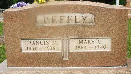 PEFFLY, MARY C. - Montgomery County, Ohio | MARY C. PEFFLY - Ohio Gravestone Photos