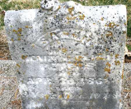 PETERS, SARAH - Montgomery County, Ohio | SARAH PETERS - Ohio Gravestone Photos