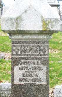 PFAFF, KARL V. - Montgomery County, Ohio   KARL V. PFAFF - Ohio Gravestone Photos