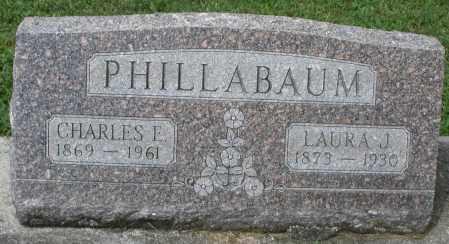 PHILLABAUM, CHARLES E. - Montgomery County, Ohio | CHARLES E. PHILLABAUM - Ohio Gravestone Photos