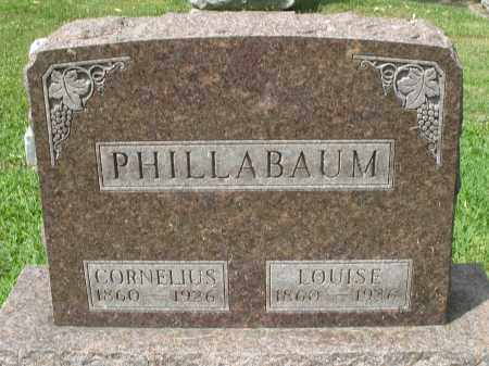 PHILLABAUM, LOUISE - Montgomery County, Ohio | LOUISE PHILLABAUM - Ohio Gravestone Photos