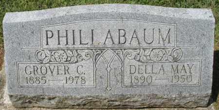 PHILLABAUM, GROVER C. - Montgomery County, Ohio   GROVER C. PHILLABAUM - Ohio Gravestone Photos