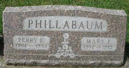 PHILLABAUM, PERRY E. - Montgomery County, Ohio | PERRY E. PHILLABAUM - Ohio Gravestone Photos