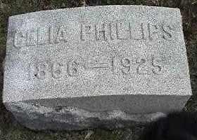 PHILLIPS, CELIA - Montgomery County, Ohio | CELIA PHILLIPS - Ohio Gravestone Photos